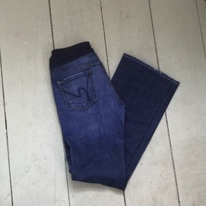 Citizens of Humanity maternity bootcut jeans sz 30